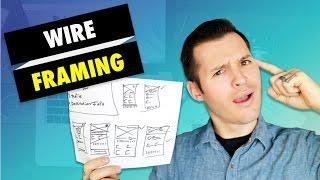 How to Wireframe a Website or App | Web Design & App Design Tutorial