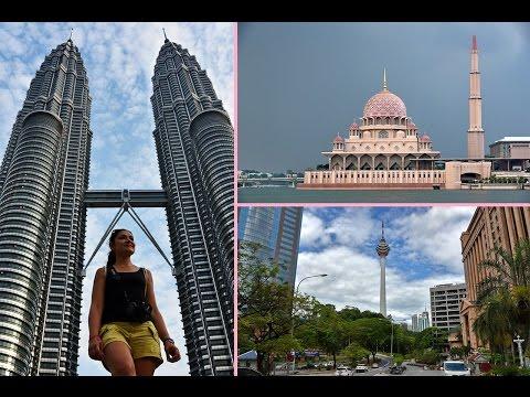 VLOG MALAISIE # 1 Kuala Lumpur & Putrajaya day by night