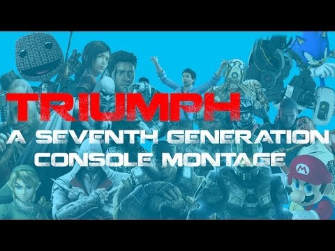Triumph- A Seventh Generation Console Montage (70+ games included)