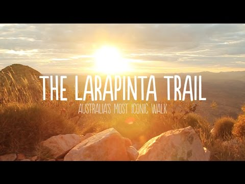 What it's like trekking the Larapinta Trail