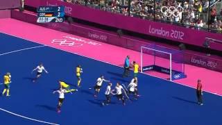 Hockey Men's Semifinals   Australia v Germany   London 2012 Olympic Games Highlights   YouTube