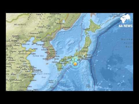 Se registra en Japón un sismo de magnitud 6,0