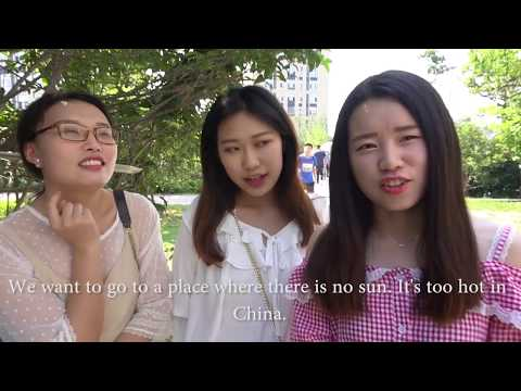 CHINESE UNIVERSITY STUDENTS: HAVE YOU TRAVELED ABROAD? // EP7