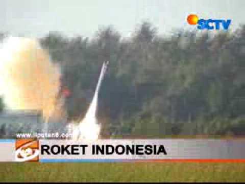 Peluncuran Roket RX 420 LAPAN