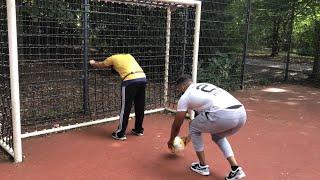 Der Prototyp Fußballer.