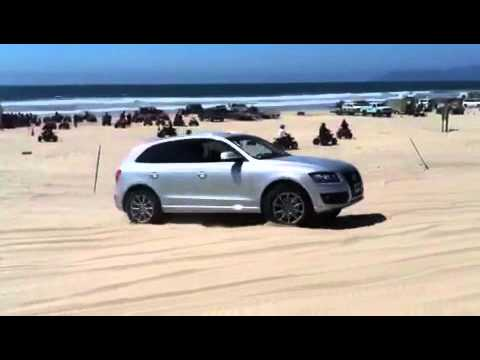 2012 audi q5 playing in pismo beach youtube. Black Bedroom Furniture Sets. Home Design Ideas