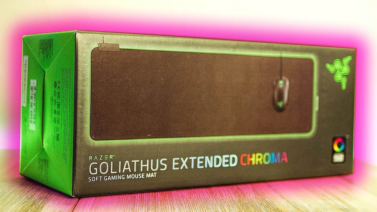 ca54be67577 Razer Goliathus Extended Chroma Unboxing - Best Mouse Mat of 2018 ...