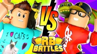 DENIS vs SEEDENG - RB Battles Championship For 1 Million Robux! (Roblox Natural Disaster Survival)