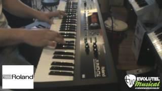 Review (teste) Sintetizador Roland Juno Di - evolutelmusical.com.br