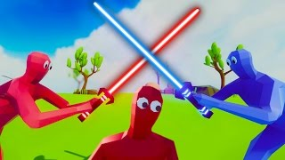 NEW NEON UNITS! | Totally Accurate Battle Simulator #8 (TABS)