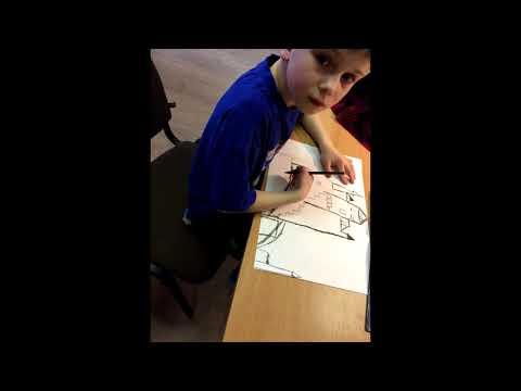 Video of art of the region Latvia Salgale