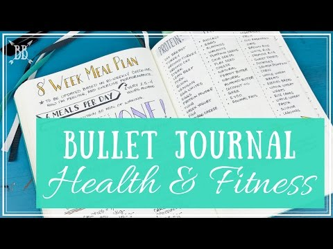 Bullet Journal: Health & Fitness Tracking