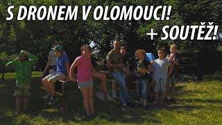 S DRONEM V OLOMOUCI! + SOUTĚŽ!   #Freescoot