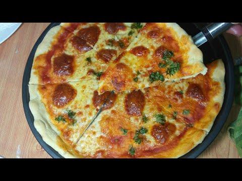 recette-de-pizza-au-jambon-de-poulet-facile-et-inratable
