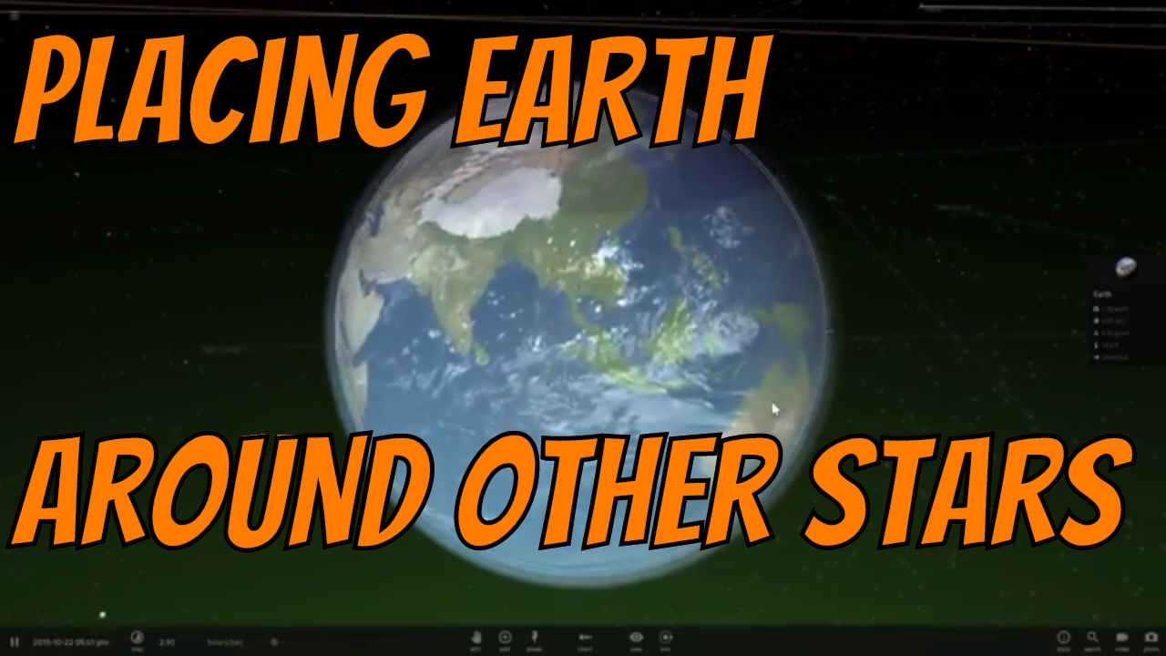 Earth In Habitable Zones Of Other Famous Stars Universe Sandbox 2