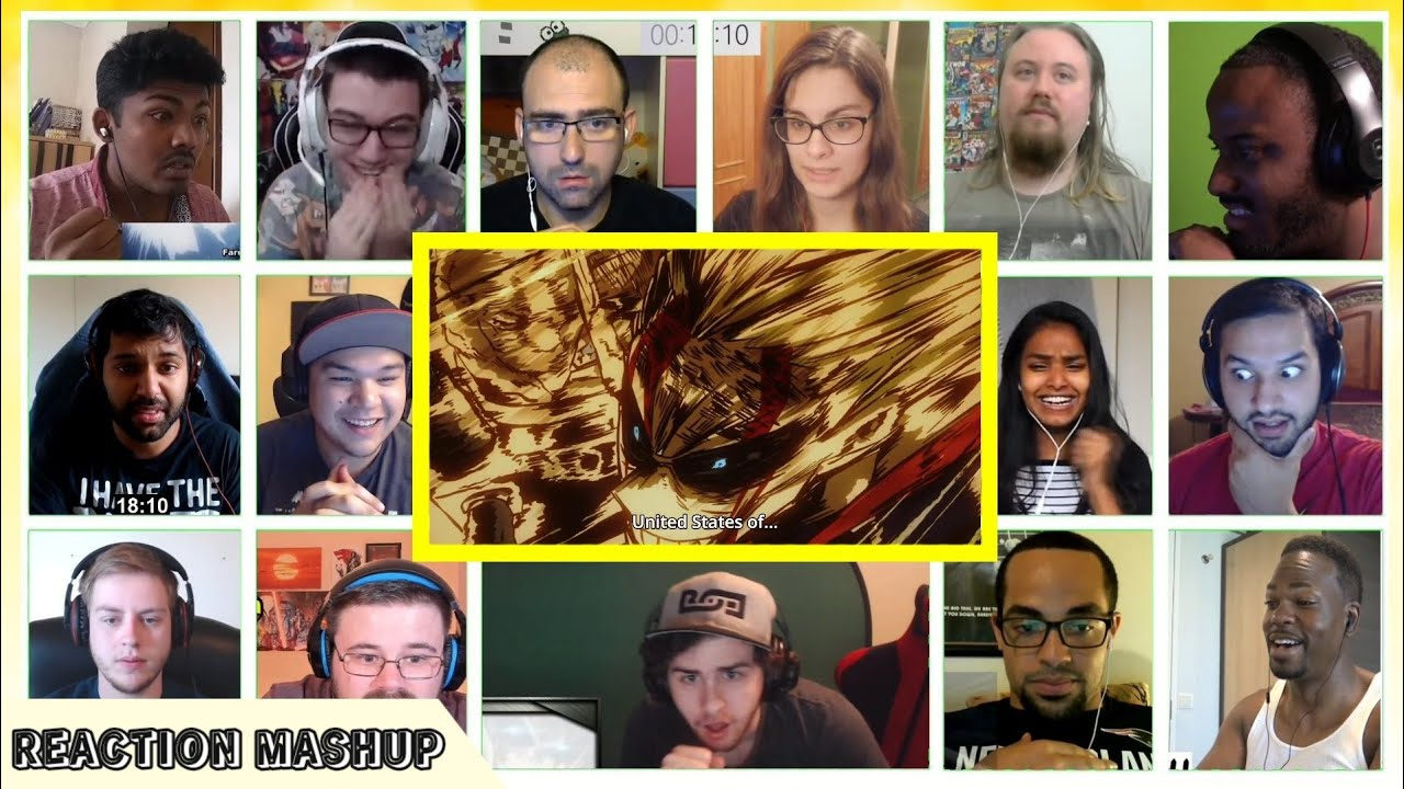 Download All Might vs All for One Reaction Mashup    Boku no Hero Academia Reaction
