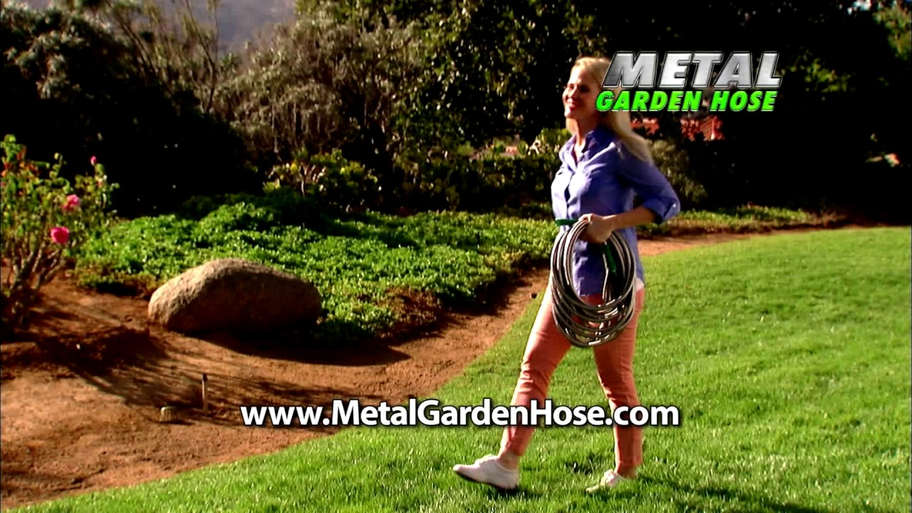 The Official AS Seen On TV Metal Garden Hose Commercial YouTube