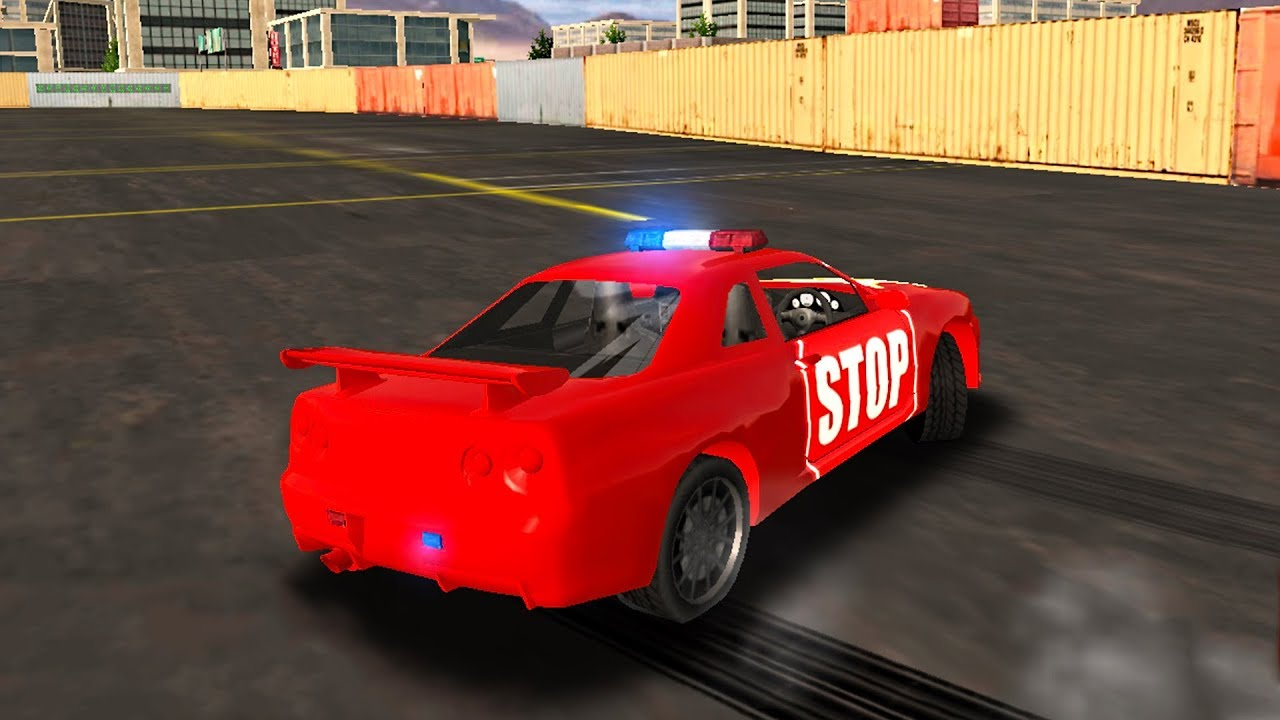 Police Drift Car Driving Simulator | Missions Walkthrough #2 Red Police Car  | Android Game