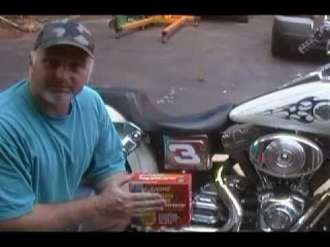 How to: Replace a battery in a Harley Davidson  YouTube