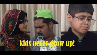 WHEN KIDS DON'T GROW UP   Sham Idrees & Froggy   Remake by Qazi Vlogs