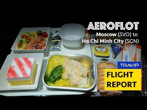Aeroflot flight review: Moscow Sheremetyevo to Ho Chi Minh City
