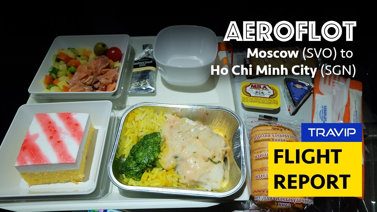 Aeroflot Food Review