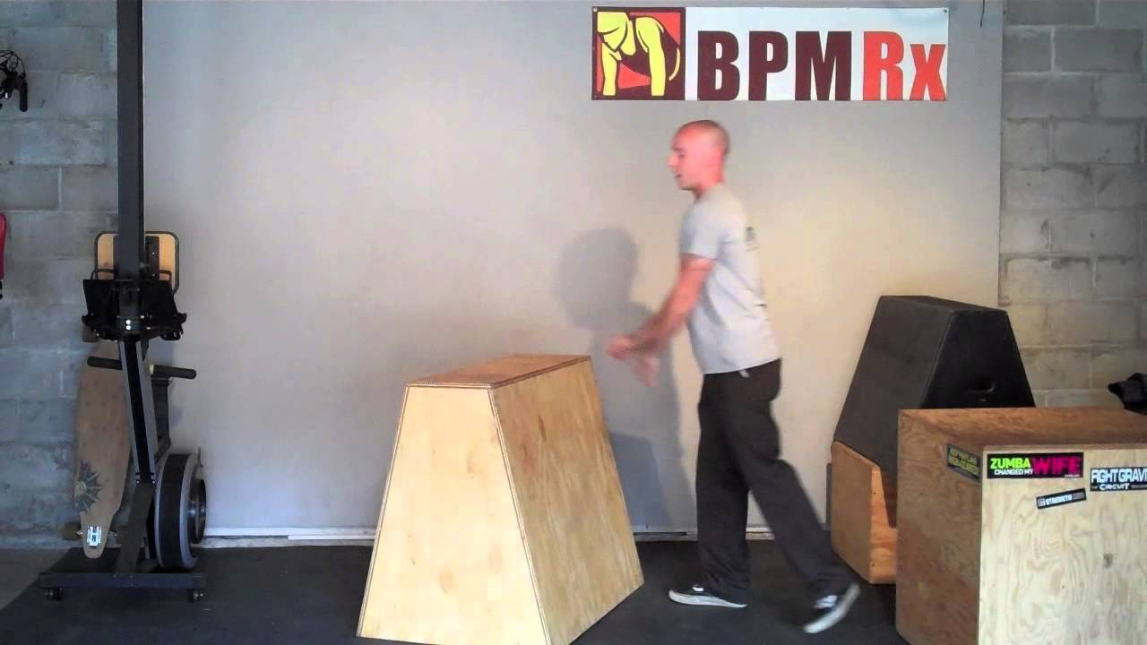 Upper Body Strength With A Vault Box Youtube