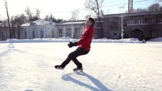 Фрискейт на коньках