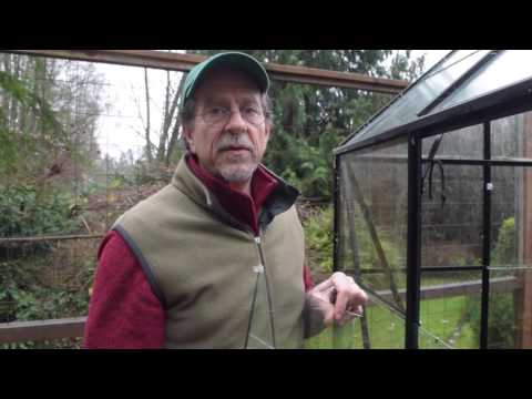 Halls Greenhouses: How to Remove Spring Clips