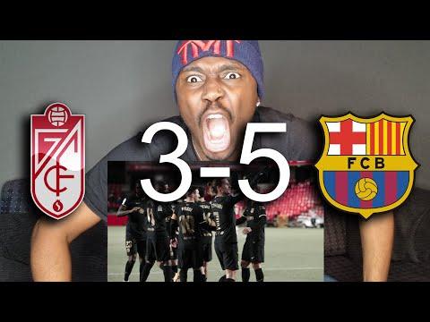 Granada 3-5 Barça | BEST LATE COMEBACK!! | Reaction | Copa Del Rey