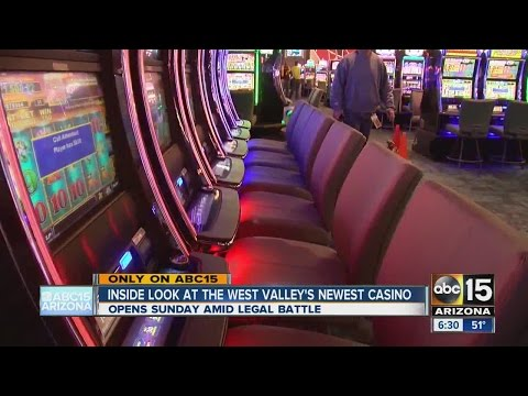 Inside look at Desert Diamond West Valley Casino