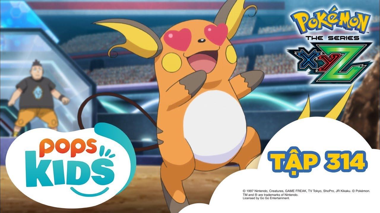 Pokémon Tập 314 –  Jukain Mega quyết đấu Raichu! – Hoạt Hình Pokémon Tiếng Việt S19 XYZ