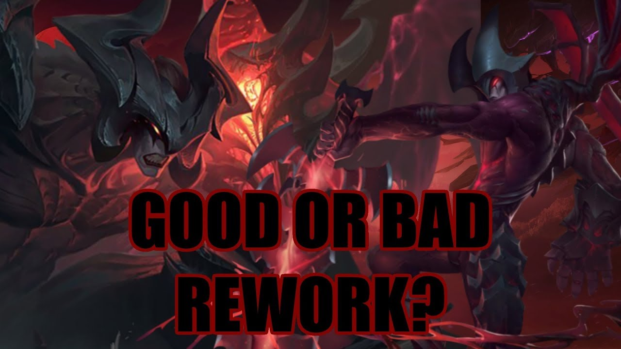 Is New Aatrox Garbage or Broken? Aatrox Rework Gameplay, Commentary and  Discussion