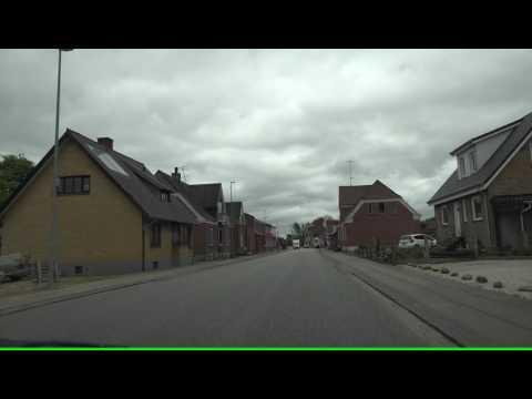 [4K] Forbi Troldhede mod Hoven & Tarm & Lønborg mod Stauning  4K Video