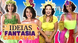 Ideias de Fantasia de carnaval 2019 - DIY