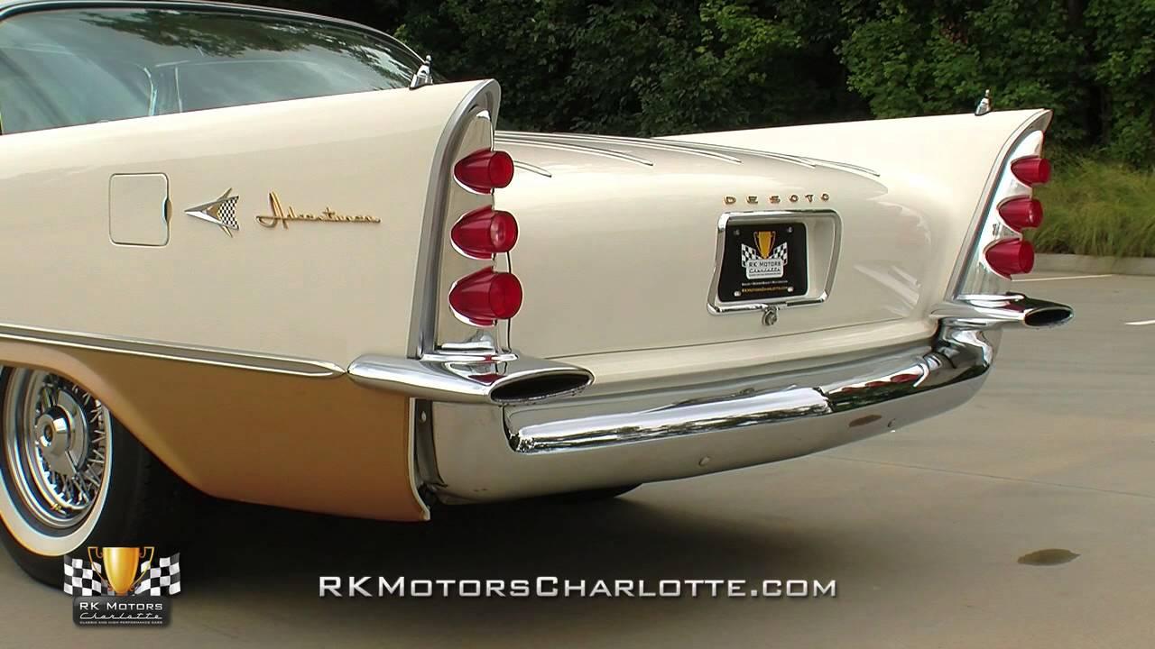 134362 / 1957 DeSoto Adventurer - YouTube