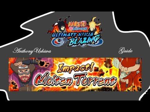 [Guide] Naruto Blazing - Impact! Roshi (Molten Torrent) Rang B,A,S