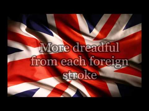 Rule Britannia - With Lyrics
