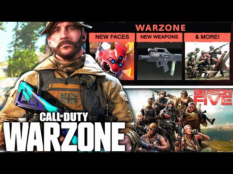 Call Of Duty WARZONE: The SEASON 5 LEAKS! (Everything We Know)