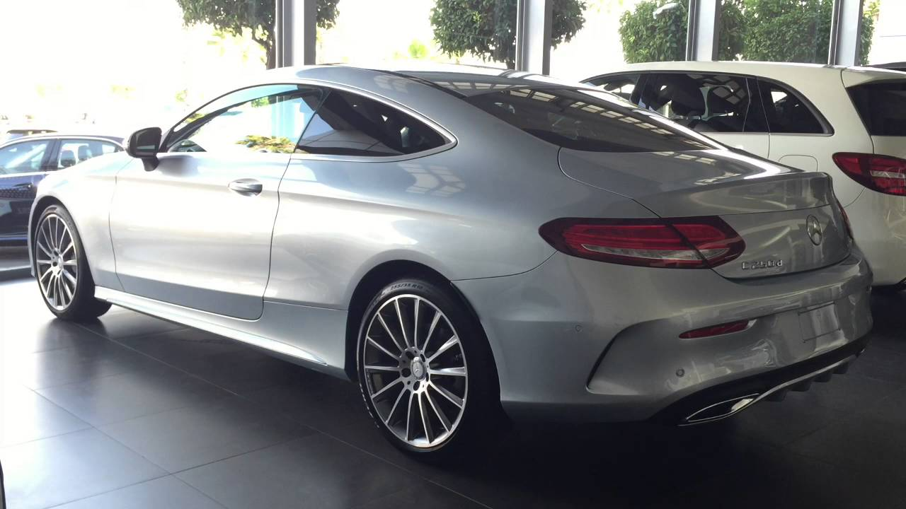 Mercedes clase c coupe amg