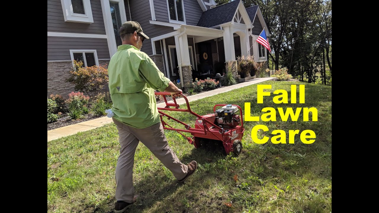 how to fix your lawn