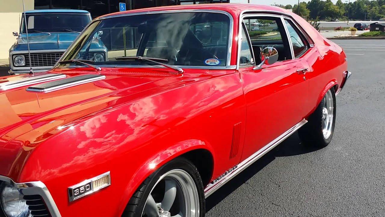 1968 Chevrolet Nova Ss Restored Pro Touring Youtube Chevy
