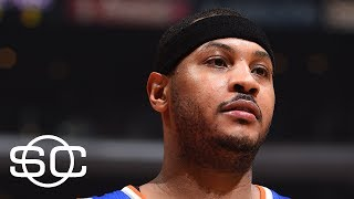Can Knicks Convince Carmelo Anthony To Stay? | SportsCenter | ESPN
