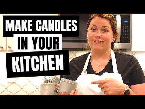 Making Candles at Home- Full Step-by-Step Tutorial