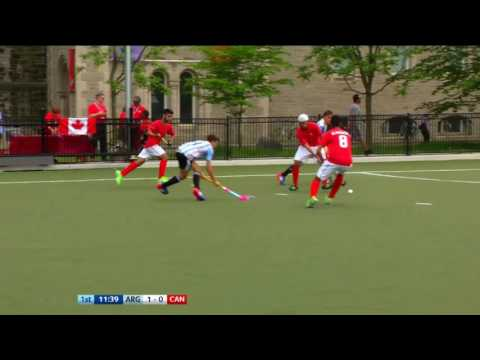 ARG 20 CAN Quick passing opens up Canada and Nicolas Keenan taps in to double the lead JrPanam2016