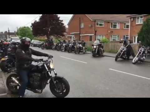 Outlaws mc National Run South Wales 2017