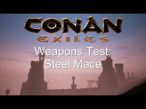Conan Exiles NEW Weapons Test: Steel Mace