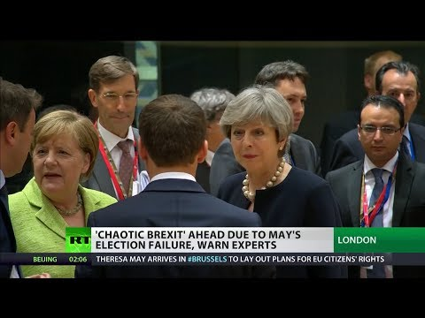"""""""Expect #Brexit to be chaotic because of poor #GE2017 result"""""""