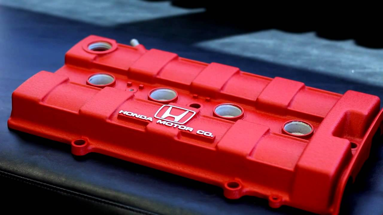 Honda Valve Covers Wrinkle Red Youtube