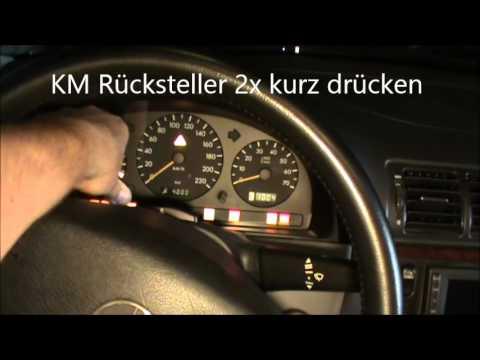 Reset Service Light On A  Mercedes Gla
